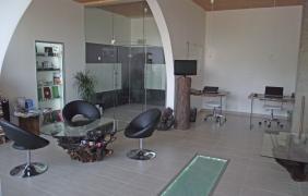 Sklenené úkážky - showroom